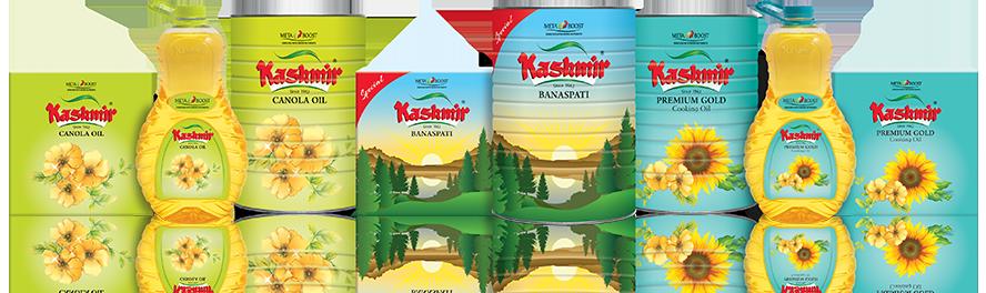 kashmir banaspati oil package